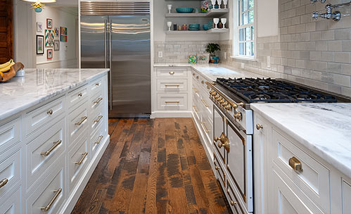 Engineered Hardwood Plank Flooring