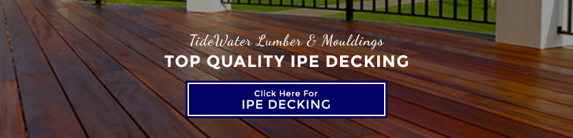 Quality IPE Decking