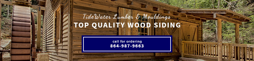 Tidewater Cypress Wood Siding