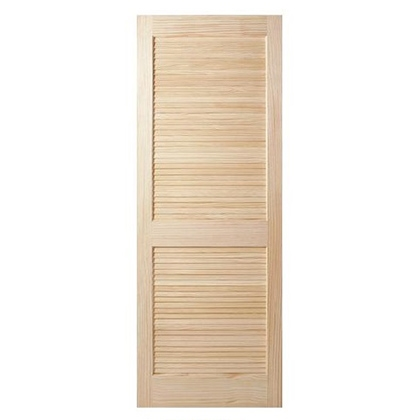 2 Panel Louver Interior Door