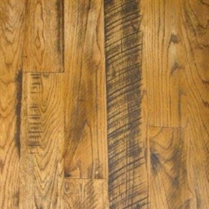 Circle Sawn Oak Hardwood Flooring
