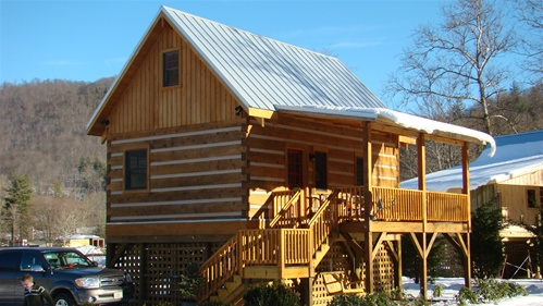 Log Cabin Cabin Dovetail Cabin Hunting Cabin Small