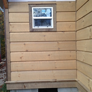 Eastern White Pine Log Siding
