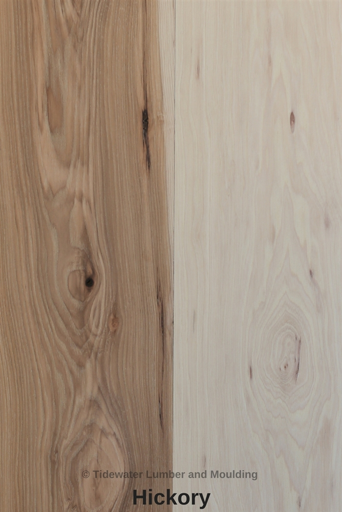 Hickory lumber hickory hardwood lumber tidewater for Hardwood timber decking boards