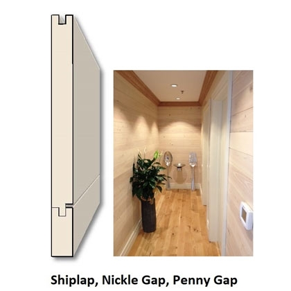 Shiplap Nickel Gap Wood Paneling