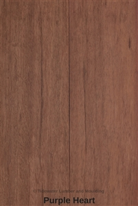 Over 20 species of hand chosen lumber at unbeatable prices for Purple heart flooring