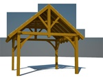 Shed Kit Rendering