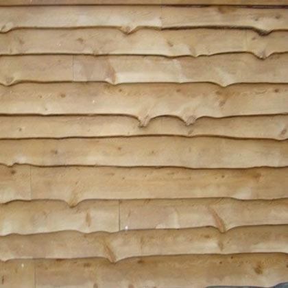 Wavy Edge Siding Natural Tidewater Lumber