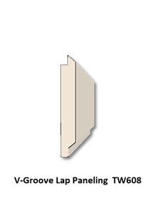 V-Groove Lap Paneling