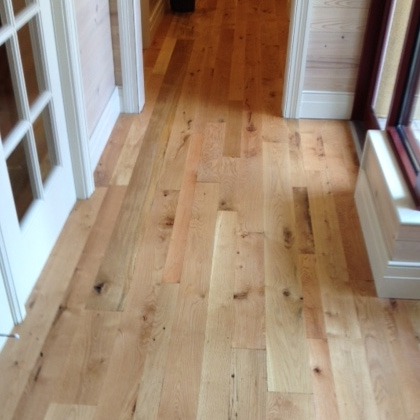 White Oak Flooring Rustic