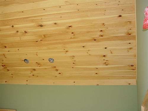 White Pine Knotty 1 X 6 Tgv Pine Beaded Ceiling