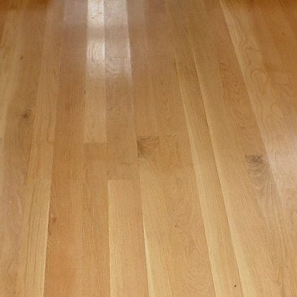 White Oak Flooring Rustic Unfinished Plank Whole Character Grade