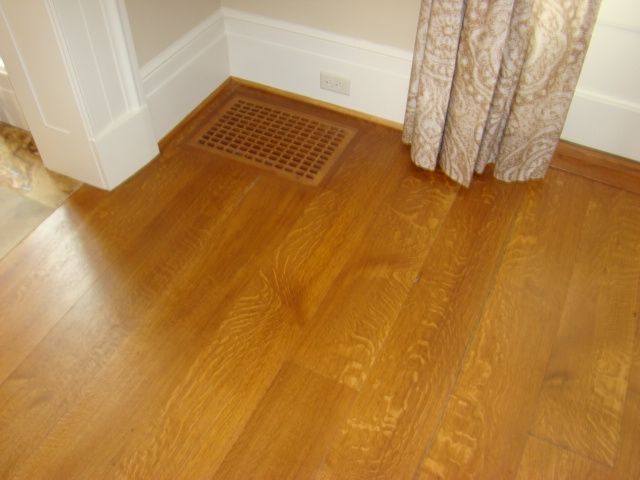 Quarter Sawn White Oak Flooring Unfinished